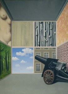 """On the Threshold of Liberty"" by René Magritte"