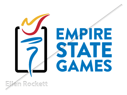 Ellen Rockett's Empire State Games Logo
