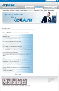 Globalinx Solutions - Before